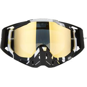 100% Racecraft Anti Fog Mirror Goggles ergoflash